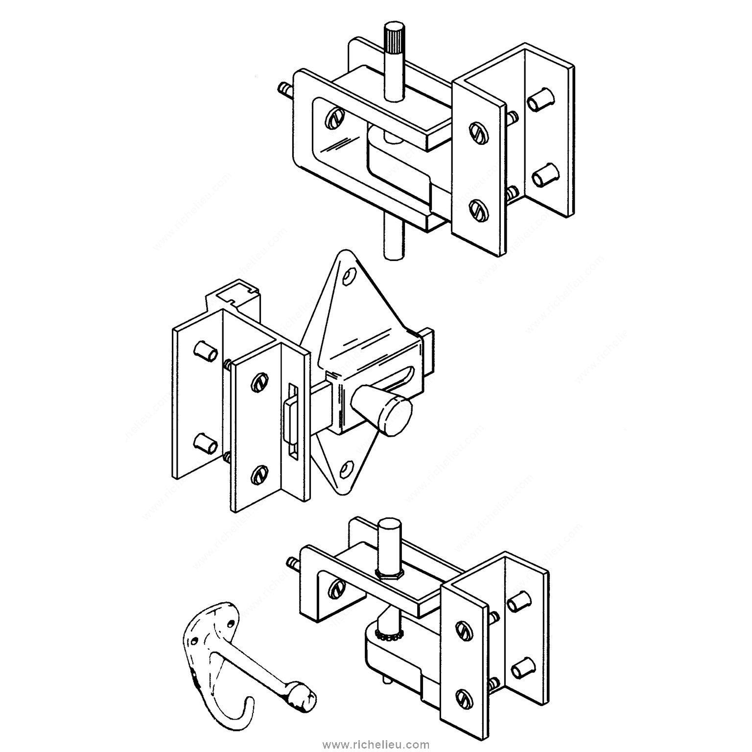 Hardware Kit For Inswing Door