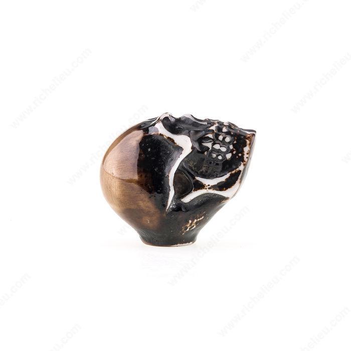 Eclectic Resin Knob 4457 Richelieu Hardware