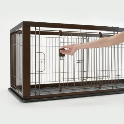 Expandable Pet Crate, Large Dog & Cat Kennell, Orthopedic ...