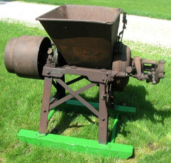 John Deere Letz Antique Grist Mill Grinder Corn Wheat