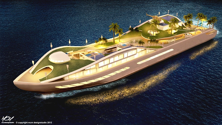 Yacht Island most stunning superyachts of the future