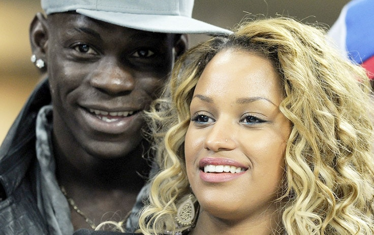 Mario Balotelli and his gorgeous Belgian fiancée Fanny Neguesha