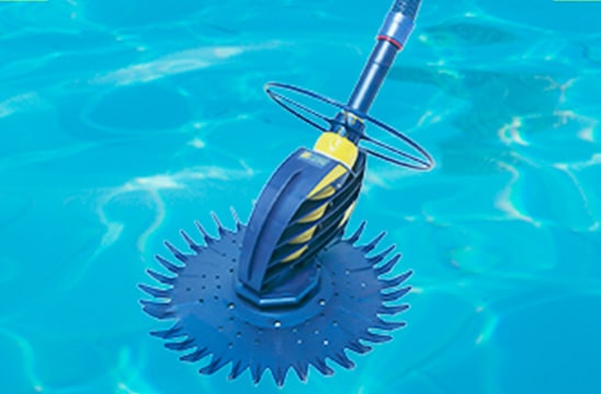 Pool cleaner invented by south african