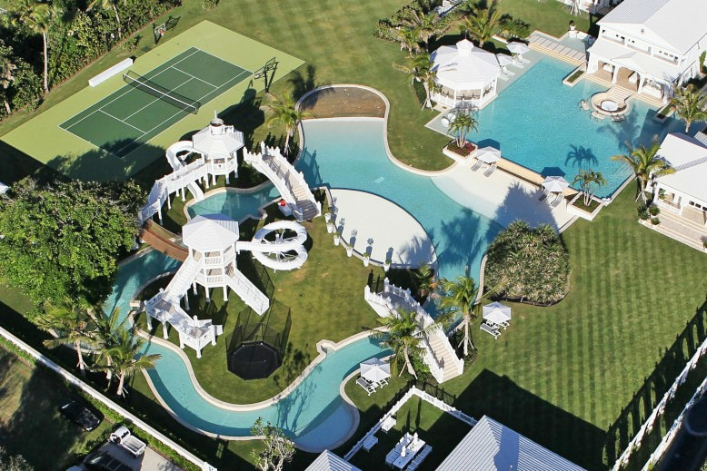 Celine Dion's Water Park Mansion (Florida)