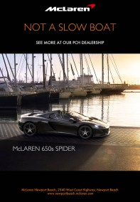 MCLAREN SLOWBOAT