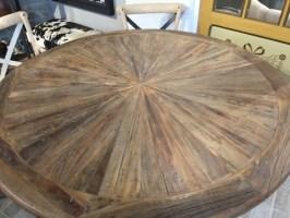 Tisch rund Massivholz, runder Esstisch Massivholz ...