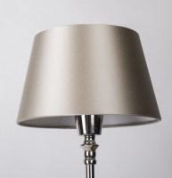 Lampenschirm für Tischleuchte, Form rund, Farbe Champagne ...