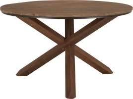 Runder Tisch Holz massiv, Esstisch rund, Tisch im ...
