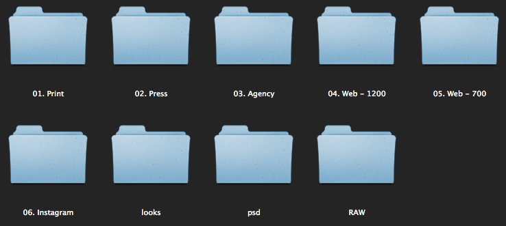 bridge-folders