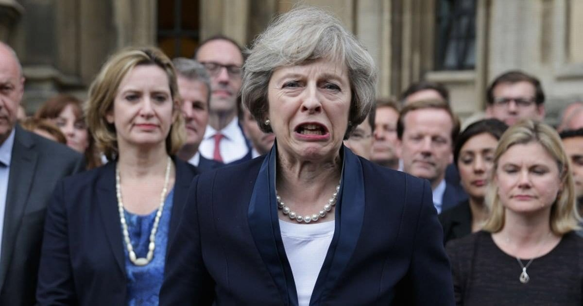 Theresa May Wants To Censor Social Media To Eliminate Dissent & End Free Speech Once & For All!