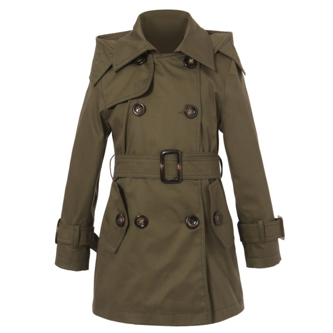 Classic Hooded Trenchcoat