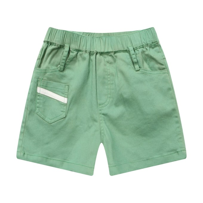 shorts with patch pockets