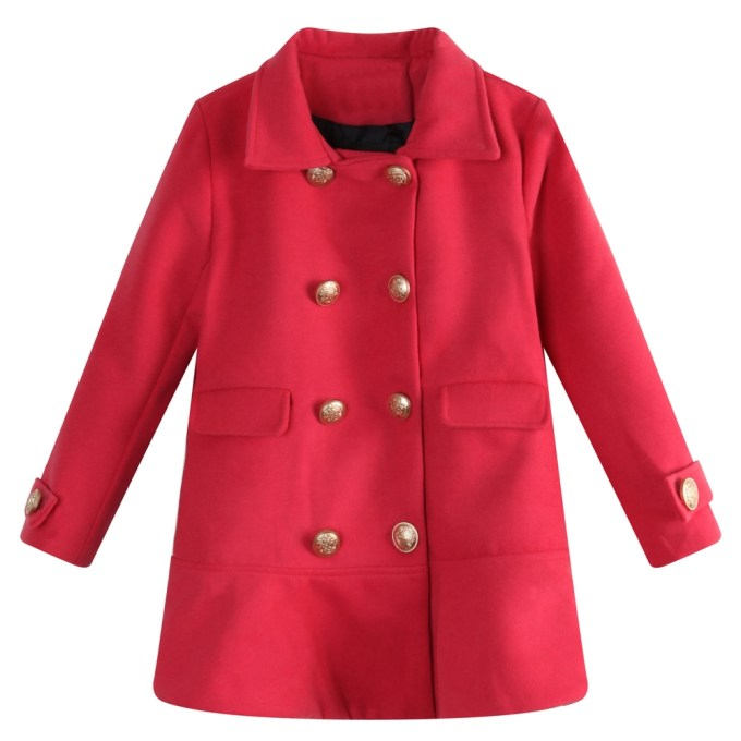 Trendy Jacket with Embroidered Buttons
