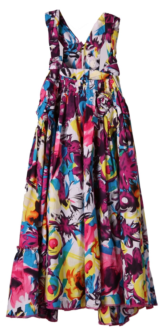 Bright Floral Sundress