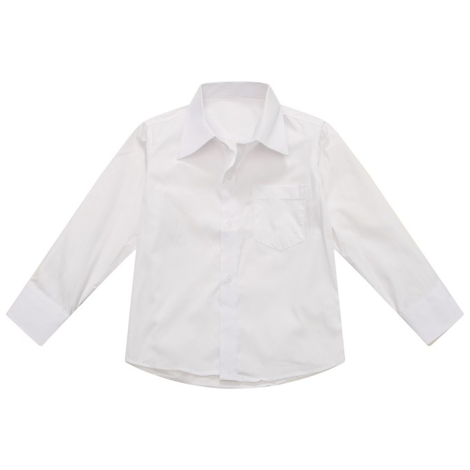 Classic White Blouse with Lapel Collar