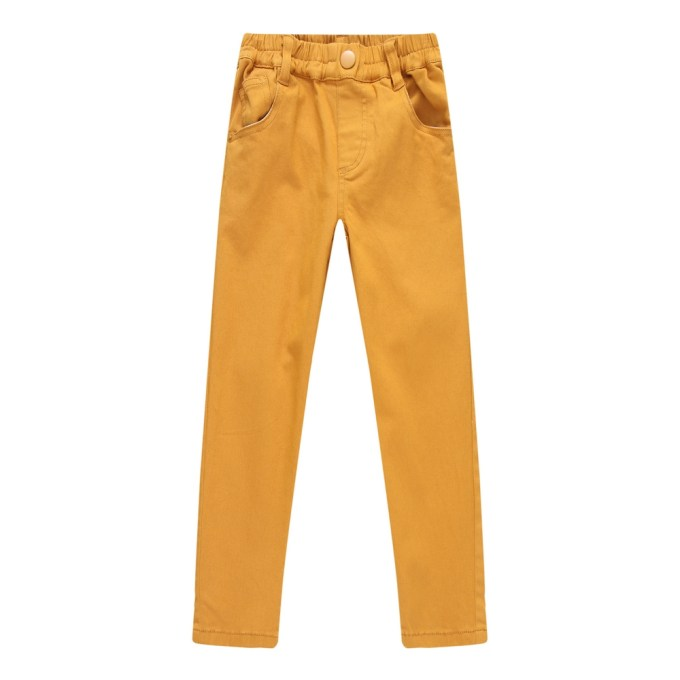 Leisure Pants with Elastic Waistband