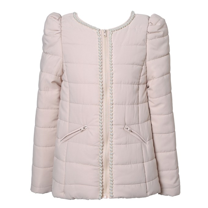 Winter Jacket with Pearls