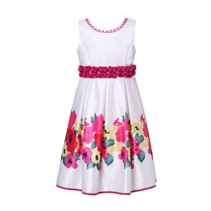 Flower Party Dress