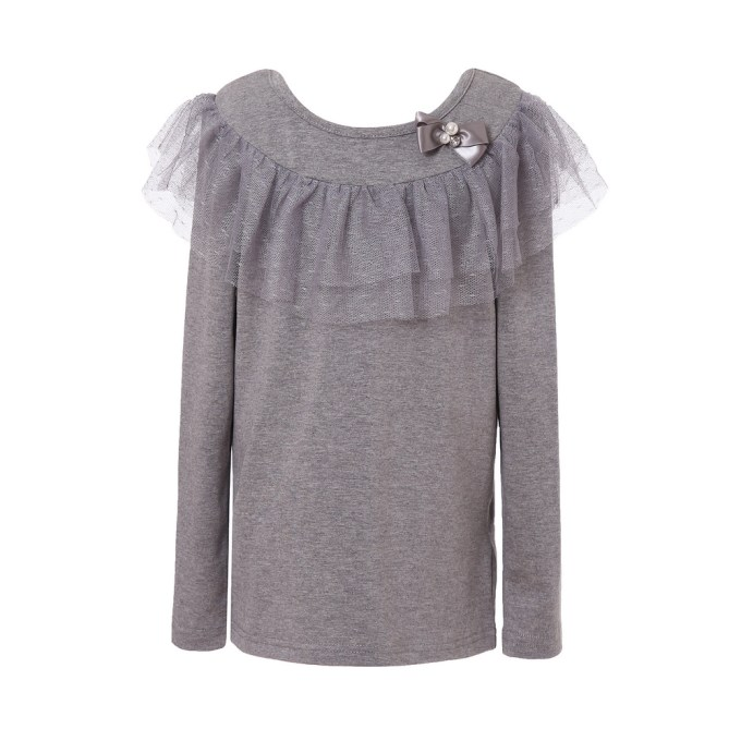 Long Sleeve T-shirt with Mesh
