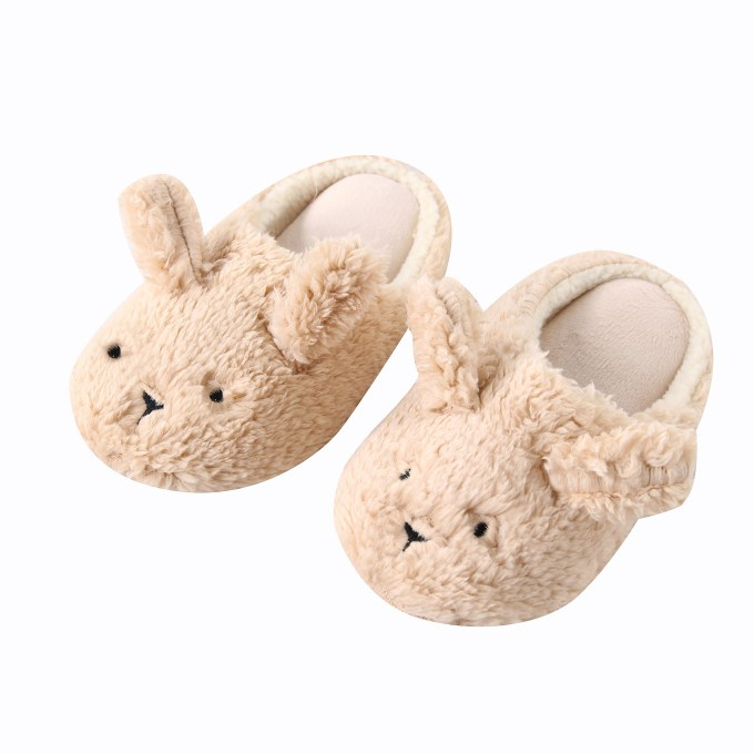 Winter Soft Fleece Non-slip Bedroom Slippers