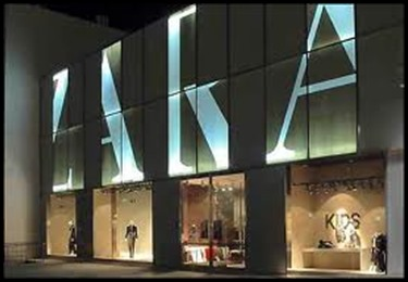 Zara popular fashion brand