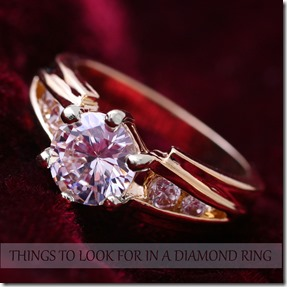 10 things to look for while buying a diamond ring