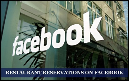 How to make Restaurant Reservations on Facebook