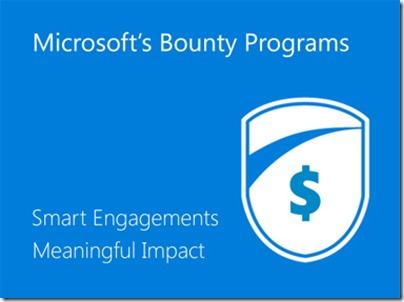 Microsoft's Bug Bounty