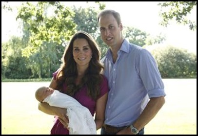 The Proud Parents of Prince George