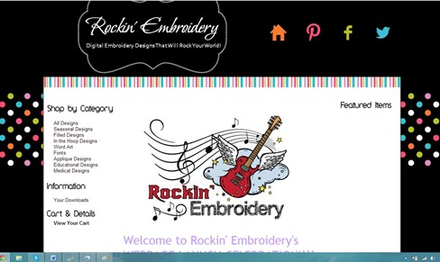 promote embroidery business with website