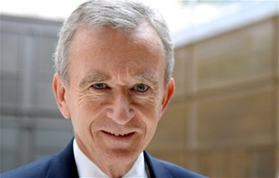 Bernard Arnault got rich after working hard