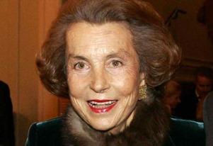 Liliane Bettencourt got rich after working hard