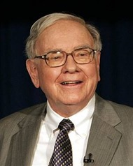 Warren Buffett got rich after working hard