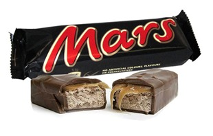Mars best selling chocolate