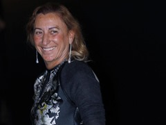 Miuccia Prada richest female 2014