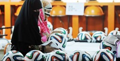 Sport Good Manufacturing Hub why FIFA Football Was Chosen from Pakistan's Sports Goods Factory