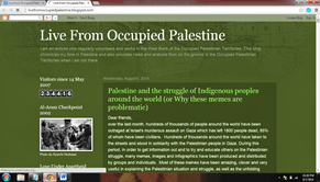 Live from Occupied Palestine Popular Blogs of Palestine