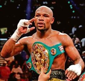 Floyd Mayweather Jr. Richest Boxers In 2014