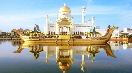 Residential palace of amazing assets of Sultan Hassanal Bolkiah