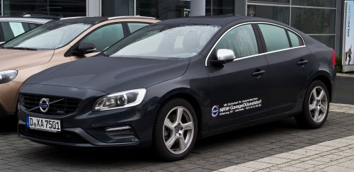 Volvo S60 - luxurious cars