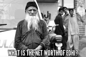 Networth of edhi