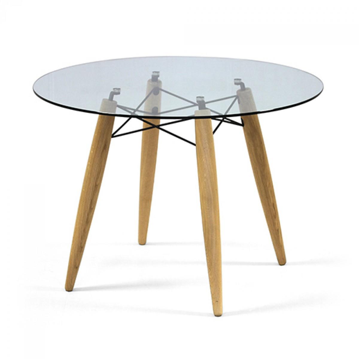 Tisch rund GlasTischplatte Esstisch rund Glas Tisch