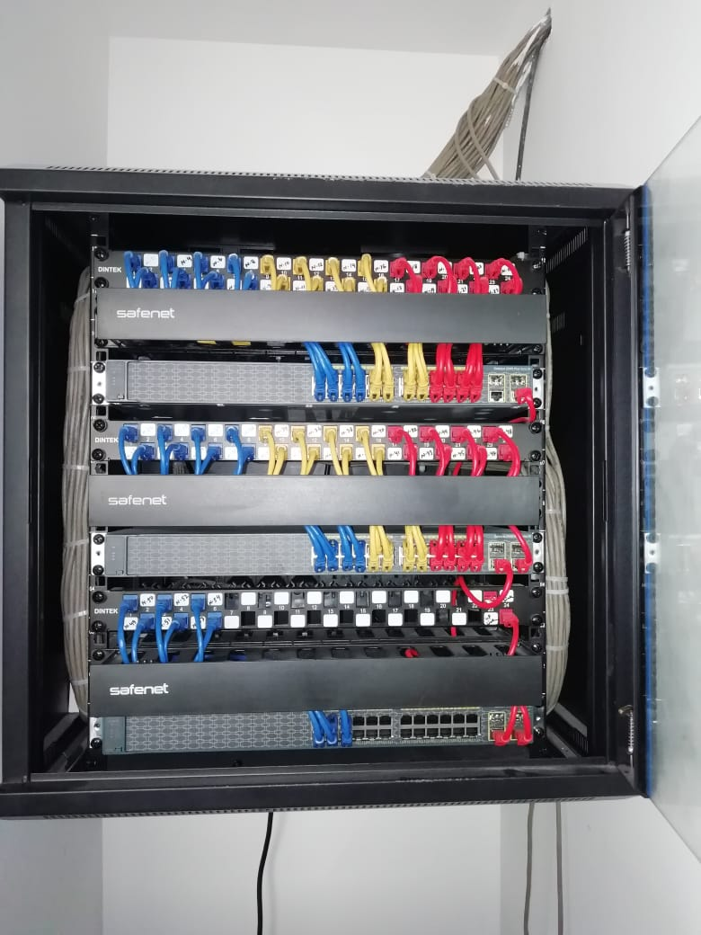 hight resolution of richman informatics has acquired vast experience in design and implementation of all standards of structured cabling systems from cat 5e cat 6a up to the