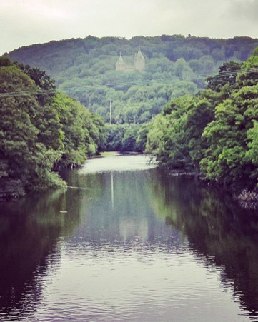 Castell Coch and the Taff Valley