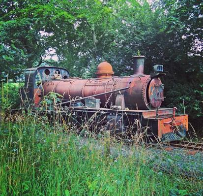 Rusting engine