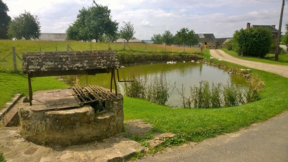 Pond at Cuy-Saint-Fiacre