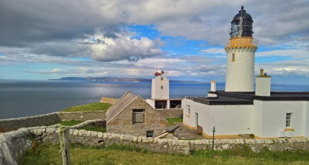 Dunnets Head across to Orkney
