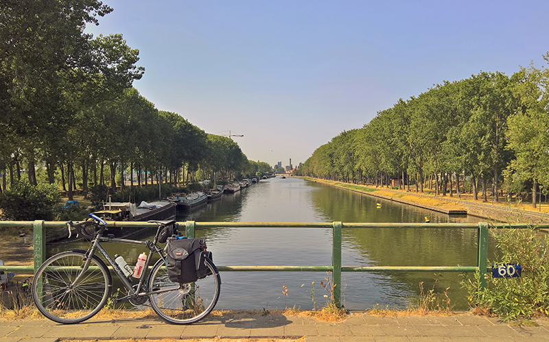 At the Brussels Canal