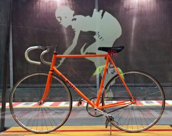 Eddy Merckx 1 Hour Record Bike