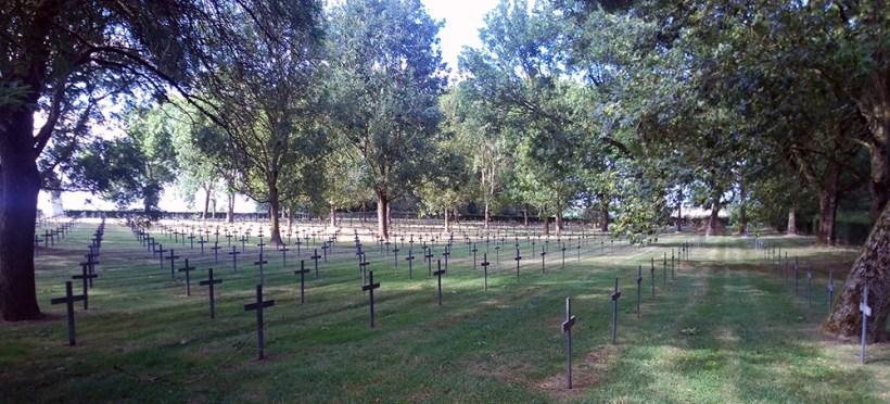 Villers au Flos German Cemetery